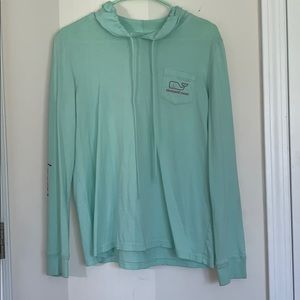 mint green vineyard vines long sleeve tee